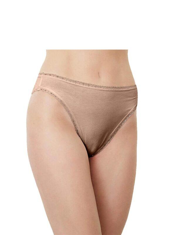 Blue CanoeHigh Cut Lace Panty Naked